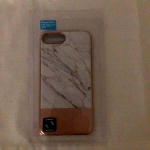 Marble and rose gold case!